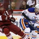 OEL's late OT goal snaps Coyotes' 9-game home losing streak