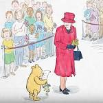 Queen Elizabeth II and Prince George Meet Winnie-the-Pooh During Birthday Visit to Buckingham Palace