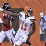 Robert Griffin III throws 2 big TD passes in Browns' 24-13 loss to Falcons