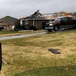 50 Homes Damaged After Tornadoes Hit Texas
