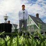 Spieth gets look at 'hardest test' during visit to Oakmont