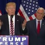 In first day as nominee, Trump focuses fire on Cruz, not Clinton
