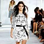 Kendall Jenner Struts Her Stuff on Diane von Furstenberg's Catwalk Alongside ...