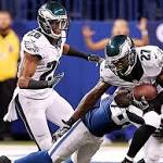 Eagles rally to stun Colts