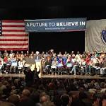 Supporters of Bernie Sanders' Democratic presidential campaign tout his ...