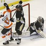 Flyers sweep home-and-home series against rival Penguins