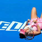 Fifth-seeded Ivanovic out in 1st round of Australian Open