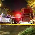 2 arrested after pickup truck hits 2 DC police officers, city worker
