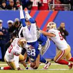 Giants notes: Jennings returns