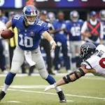 Short week is long on meaning for Giants, Redskins