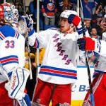 Rangers nip Islanders in their last regular-season game in Coliseum