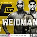 UFC 162: Silva vs. Weidman Fight Card Preview