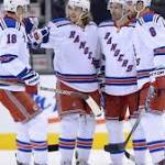 Zuccarello's 2nd goal sends Rangers to 5-4 win over Leafs