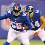 Will Beatty injury means Giants' Ereck Flowers will have to grow up quickly