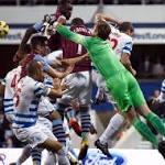 Villa, QPR finish level in six-goal thriller
