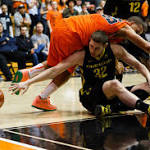 OSU men's team blocks Oregon in Civil War