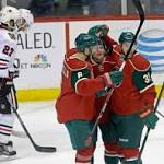 NHL roundup: Wild beats Chicago again; Blues win