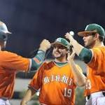 Miami baseball team escapes again, wins NCAA regional to advance to super regional