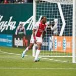 Timbers blank Rapids, clinch share of West lead