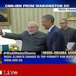Live: Modi, Obama discuss economy, trade, security; US says it will 'deepen ...
