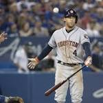 McHugh loses fourth straight, Astros fall 4-2 to Blue Jays
