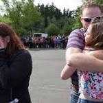 Reynolds High School shooting: Grim day ends with anxious parents waiting in a ...