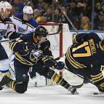 NHL roundup: Blues keep streaking, shut out Sabres