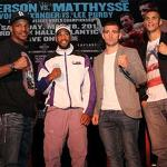 No belts for Peterson-Matthysse?