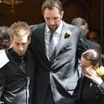 Gia Allemand's boyfriend Ryan Anderson and her mother lead mourners at ...