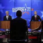 Gov. Rick Scott and Charlie Crist spar in first debate that gets testy as candidates ...