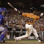Giants sweep Mets as Blanco's bat heats up