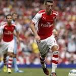 Ozil's Long-Term Injury Leaves Arsenal Weakened