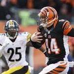 Steelers drub Bengals, turn AFC North into race