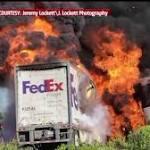 Report Blames FedEx Driver in Orland Crash