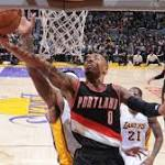 Miami Heat hold lead over Lakers, 61-53, after third quarter