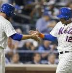 Misplay helps Mets get past Giants