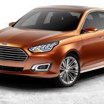 Sleek Ford Escort Concept Sedan Debuts in China
