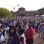 Thousands walk to find a cure for Alzheimer's disease