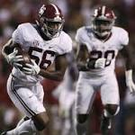 Attacking Alabama defense not thrilled with Arkansas showing