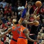 Rose takes command in 82-81 victory over Knicks
