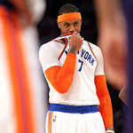 NBA scores 2017: Carmelo Anthony has his best game in spite of growing trade rumors