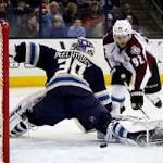 Early Goals, Varlamov's 44 Saves Lift Avs Past CBJ, 4-0