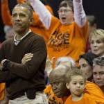 With Obama on Hand, Princeton Beats Green Bay 80-70 in NCAAs