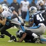 NFL roundup: Panthers jolt Saints to make playoffs