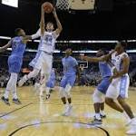 Hicks, Jackson, Berry all start strong in UNC's 95-75 season-opening win at Tulane