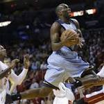 Grizzlies snap 4-game skid, top Heat 103-95