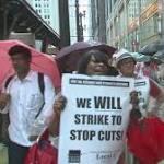 Chicago teachers protest $5.4 billion Chicago Public Schools budget