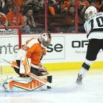 Flyers knock off Los Angeles Kings 3-2 in overtime/ Rapid reaction