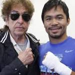 Dylan and Pacquiao: The day the Nobel Prize winner met the noble prize fighter