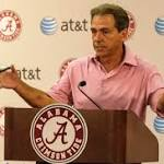 Nick Saban: Depth charts a 'chore'
